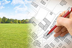 Plans to develop a block of land