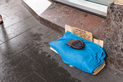 Homeless in Sydney